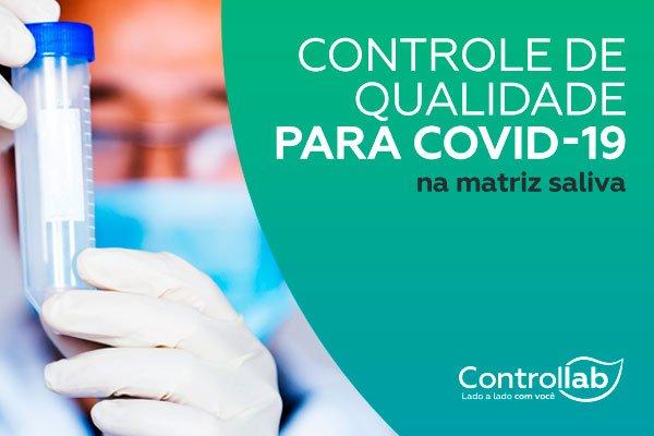 Covid-19: Controllab amplia portfólio com a matriz saliva