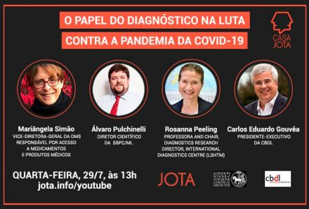 WEBINAR:  O Papel do Diagnóstico na Luta Contra a Pandemia da Covid-19